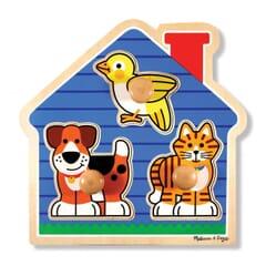 House Pets Large Knob Puzzle