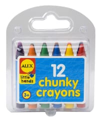 Chunky Crayons In Travel Case