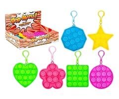 Pop Mates Clip On Bubble Fidget - Shapes
