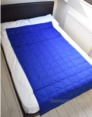 Large Extendable Weighted Blanket -6kg-Blue-
