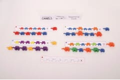 Connecting Camels Sequencing cards pk20