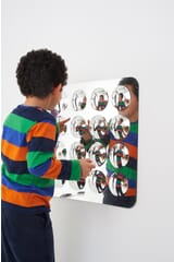 Acrylic Convex `Bubble` Mirror - 16