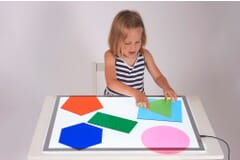 Jumbo Colour Mix Shapes - Pk 6