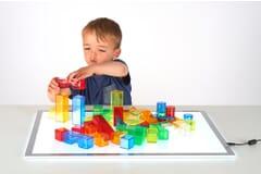 Translucent Colour Blocks - Pk 50