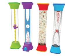 Sensory Fidget Tubes - Set of 4