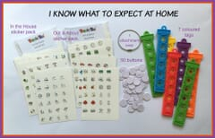 TomTag Visual Timetable - I Know What to Expect at Home
