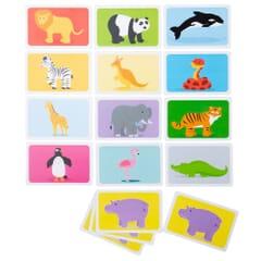 Card Game  - Snap - Wild Animals
