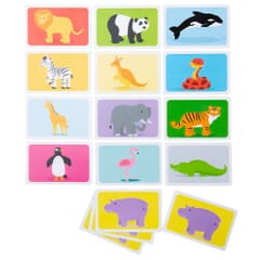 Card Game  - Snap - Wild Animals