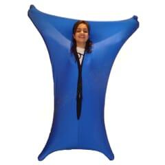 blue bodysock