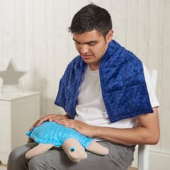 Snuggly Tactile Weighted Shoulder Wrap