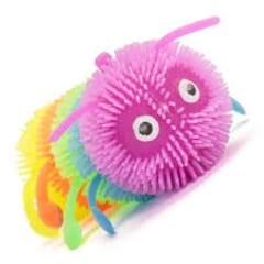 flashing squishy caterpillar