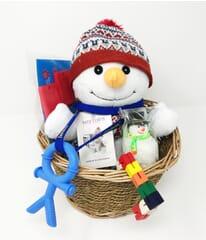 Sensory Christmas gift basket