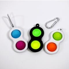 Dimple Fidget Toy - Keyring Pack of 3