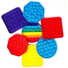 Pop It Sensory Bubble Fidget Toy - Multi Packs