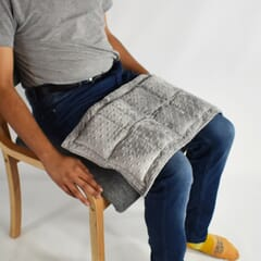 Soft & Snuggly Tactile Weighted Lap Pad