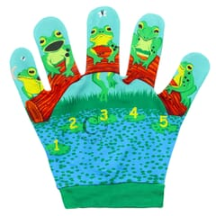 Five Little Speckled Frogs - Favourite Song Mitts