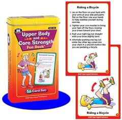 Upper Body & Core Strength Fun Deck