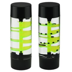 Spiral liquid timer green and black - single