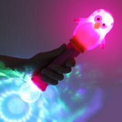 Flashing Penguin Wand