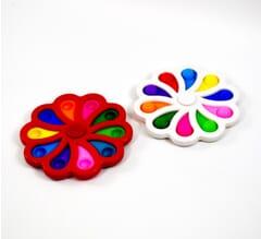 Dimple Fidget Toy - Spinner Flower