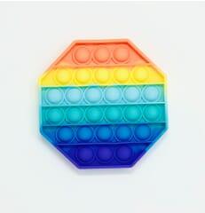 Pop it sensory fidget Octagon - Multi Colour
