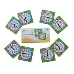 EasyRead Tell the Time Card Games - Level 1