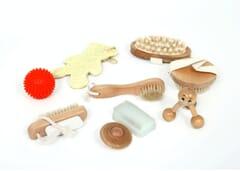 Sensory Massage Basket Set
