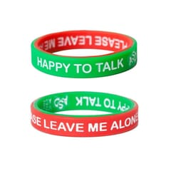 Mood Band With Words - Pack of 3