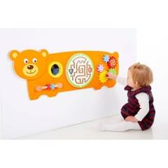 Orange Bear Wall Toy