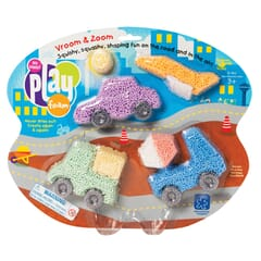 PlayFoam Vroom and Zoom Themed Set