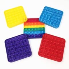 Pop It Sensory Bubble Fidget Toy - Square
