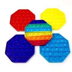 Pop It Sensory Bubble Fidget Toy - Octagon