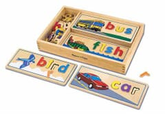 See and Spell Wooden Learning Toy
