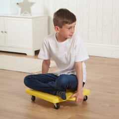 small scooterboard blue