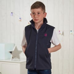 Kids Weighted Jacket - front view on boy