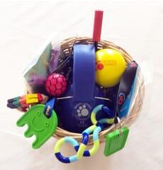 sensory basket