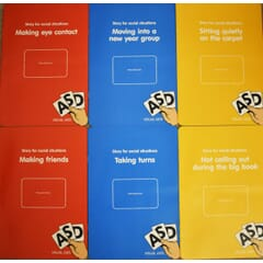 Social Situation Stories - pack of 6 booklets