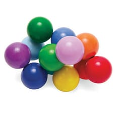 Tactile Wooden Beads