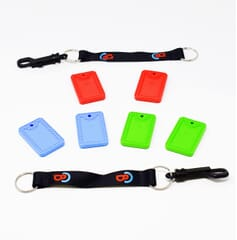 Chewbuddy™ Chew Tag - Twin Pack - Including Clip