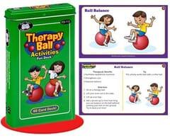 therapy ball fun deck