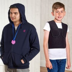 Weighted Hoody & Deep Pressure Vest Set