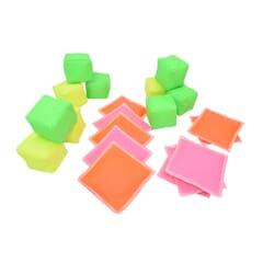 uv cube and bean bag set