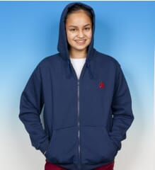 Image for Weighted Hoody (Blue)